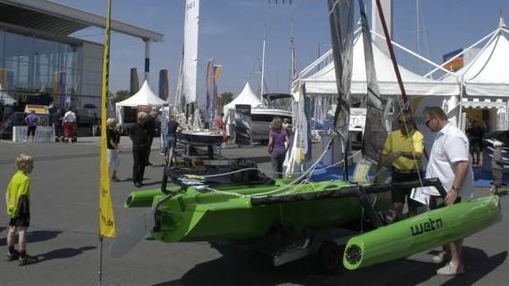 ULTRAMRIN Boatshow - Weta 4.4 Stand